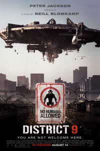 District 9 - 43 x 62 Movie Poster - Bus Shelter Style B