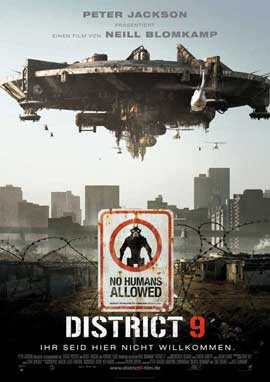 District 9 - 11 x 17 Movie Poster - German Style A