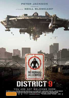 District 9 - 11 x 17 Movie Poster - Australian Style A