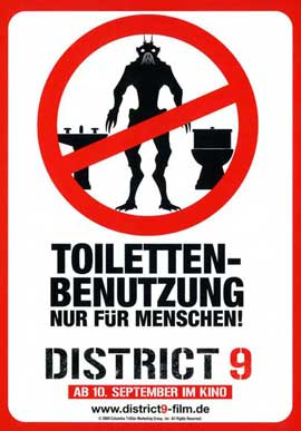 District 9 - 11 x 17 Movie Poster - German Style D