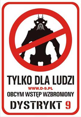 District 9 - 11 x 17 Movie Poster - Polish Style A