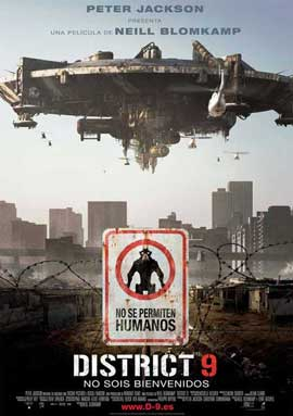 District 9 - 11 x 17 Movie Poster - Spanish Style B