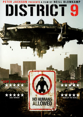 District 9 - 11 x 17 Movie Poster - UK Style A