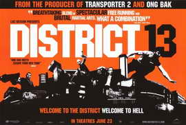 District B13 - 27 x 40 Movie Poster - Style B