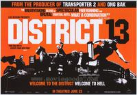 District B13 - 43 x 62 Movie Poster - Bus Shelter Style B