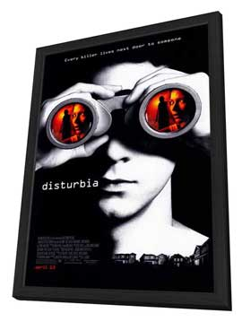 Disturbia - 11 x 17 Movie Poster - Style A - in Deluxe Wood Frame
