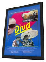 Diva - 11 x 17 Movie Poster - Style A - in Deluxe Wood Frame