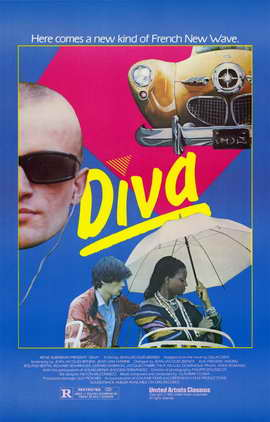 Diva - 11 x 17 Movie Poster - Style A