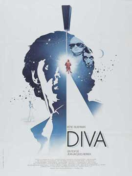 Diva - 11 x 17 Movie Poster - French Style A