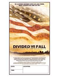 Divided We Fall: Americans in the Aftermath - 43 x 62 Movie Poster - Bus Shelter Style A