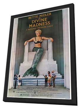 Divine Madness - 11 x 17 Movie Poster - Style A - in Deluxe Wood Frame