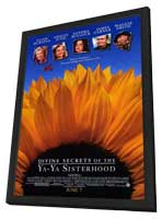 Divine Secrets of the Ya-Ya Sisterhood - 11 x 17 Movie Poster - Style A - in Deluxe Wood Frame