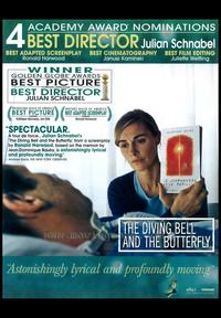 Diving Bell and the Butterfly - 11 x 17 Movie Poster - Style E