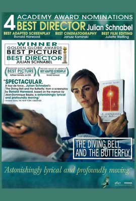 Diving Bell and the Butterfly - 27 x 40 Movie Poster - Style C
