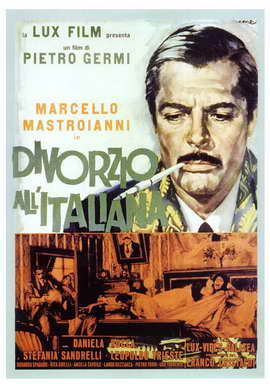 Divorce - Italian Style - 27 x 40 Movie Poster - Italian Style A