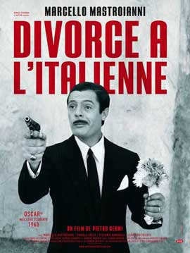 Divorce - Italian Style - 11 x 17 Movie Poster - French Style A