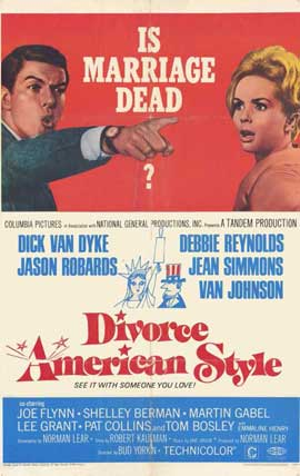 Divorce American Style - 11 x 17 Movie Poster - Style A