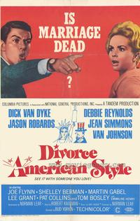 Divorce American Style - 43 x 62 Movie Poster - Bus Shelter Style A