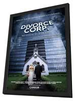 Divorce Corp - 27 x 40 Movie Poster - Style A - in Deluxe Wood Frame