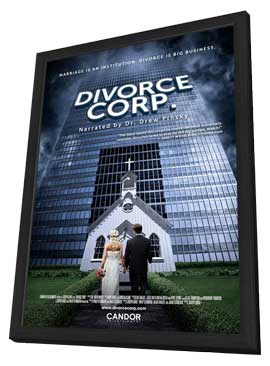 Divorce Corp - 11 x 17 Movie Poster - Style A - in Deluxe Wood Frame