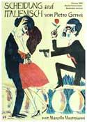 Divorce--Italian Style - 11 x 17 Movie Poster - German Style B