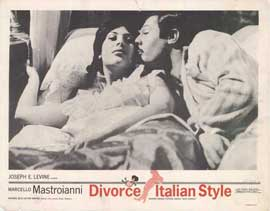 Divorce--Italian Style - 11 x 14 Movie Poster - Style D