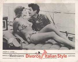 Divorce--Italian Style - 11 x 14 Movie Poster - Style C