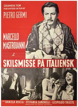 Divorce--Italian Style - 11 x 17 Movie Poster - Swedish Style A