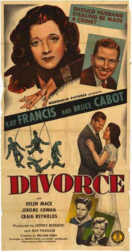 Divorce - 11 x 17 Movie Poster - Style A