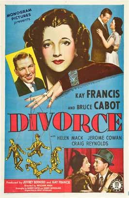 Divorce - 11 x 17 Movie Poster - Style B