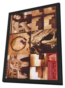 Dixie Chicks - 11 x 17 Music Poster - Style B - in Deluxe Wood Frame