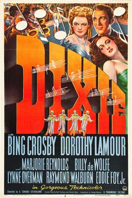 Dixie - 27 x 40 Movie Poster - Style D