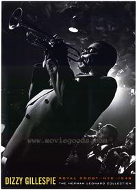 Dizzy Gillespie - Music Poster - 24 x 36 - Style A
