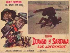 Django Against Sartana - 11 x 17 Poster - Foreign - Style A