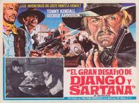 Django Against Sartana - 27 x 40 Movie Poster - Foreign - Style B
