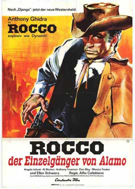 Django, Ballad of a Gunman - 27 x 40 Movie Poster - German Style A