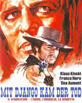 Django, His Pride and Vengeance - 11 x 17 Movie Poster - German Style A