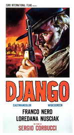Django - 27 x 40 Movie Poster - Italian Style A