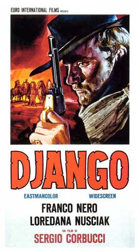 Django - 11 x 17 Movie Poster - Italian Style A