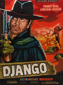 Django - 11 x 17 Movie Poster - French Style A