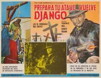 Django Sees Red - 11 x 17 Movie Poster - Italian Style B