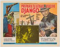 Django Sees Red - 43 x 62 Poster - Foreign - Bus Shelter Style A
