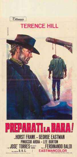 Django Sees Red - 11 x 17 Movie Poster - Italian Style A
