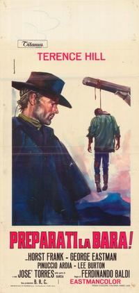 Django Sees Red - 27 x 40 Movie Poster - Italian Style A