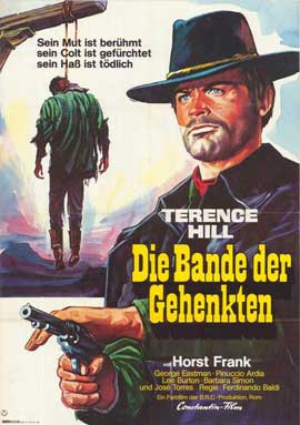 Django Sees Red - 11 x 17 Movie Poster - German Style A