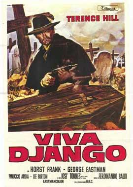 Django Sees Red - 11 x 17 Movie Poster - Italian Style C