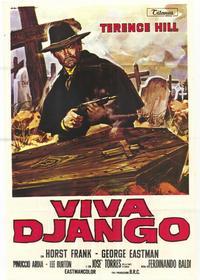 Django Sees Red - 39 x 55 Movie Poster - Italian Style B