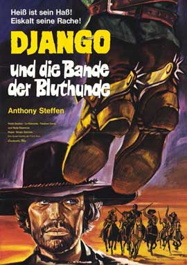 Django the Bastard - 11 x 17 Movie Poster - German Style A