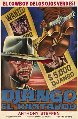 Django the Bastard - 11 x 17 Movie Poster - Spanish Style A