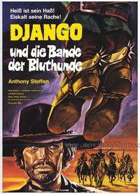 Django the Bastard - 27 x 40 Movie Poster - German Style A